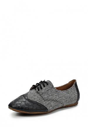 Ботинки Burlesque BU001AWCIW83. Цвет: серый
