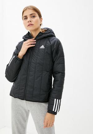 Куртка утепленная adidas W ITAVIC L HO J. Цвет: черный