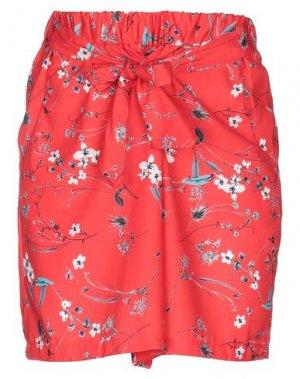Повседневные шорты FLY GIRL. Цвет: красный