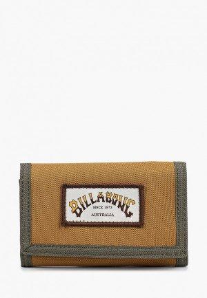 Кошелек Billabong ATOM WALLET. Цвет: коричневый