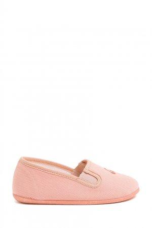 Розовые слипоны из текстиля Bonpoint. Цвет: multicolor