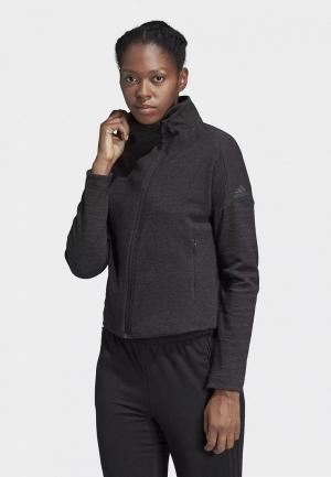 Олимпийка adidas W HTR Jkt. Цвет: черный