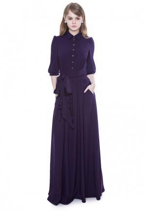 Платье Marichuell DEVALDY. Цвет: фиолетовый