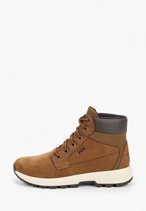 Ботинки Helly Hansen BOWSTRING. Цвет: коричневый