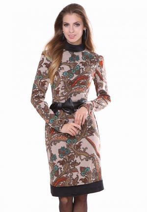 Платье Olivegrey STARBERY. Цвет: бежевый