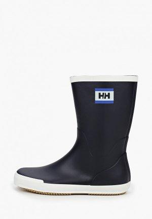 Резиновые сапоги Helly Hansen. Цвет: синий