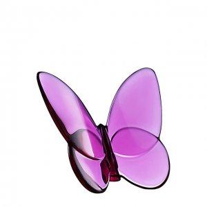 Статуэтка Papillon Baccarat. Цвет: фиолетовый