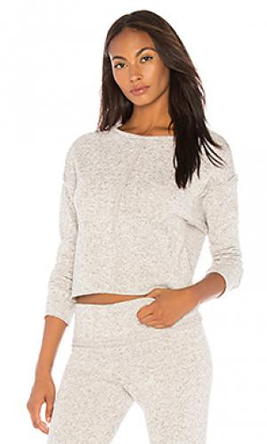 Пуловер onzie. Цвет: светло-серый