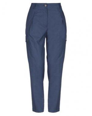 Повседневные брюки CAPPELLINI by PESERICO. Цвет: грифельно-синий