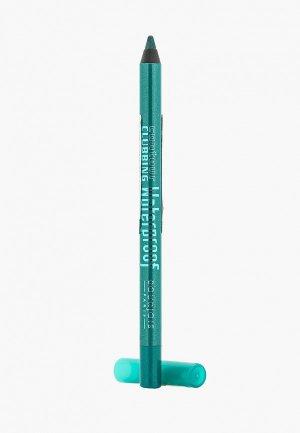 Карандаш для глаз Bourjois Водостойкий Contour Clubbing Waterproof, тон 50 loving green. Цвет: бирюзовый