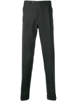Классические брюки строгого кроя Canali. Цвет: черный