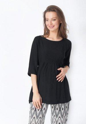 Блуза Bornsoon. Цвет: черный