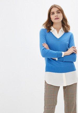 Пуловер Banana Republic. Цвет: голубой