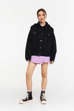 Куртка джинсовая befree. Цвет: 50, черный