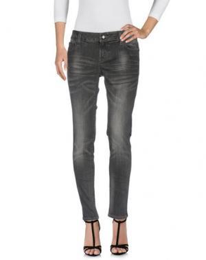 Джинсовые брюки EIGHTH SIN. Цвет: черный