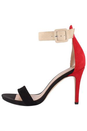 Босоножки EL Dantes. Цвет: black, beige, red