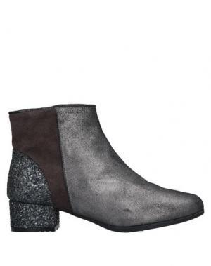 Полусапоги и высокие ботинки ESPADRILLES. Цвет: свинцово-серый