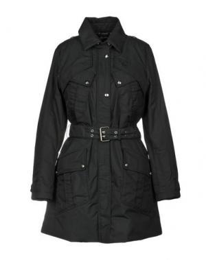 Легкое пальто HOGAN. Цвет: черный