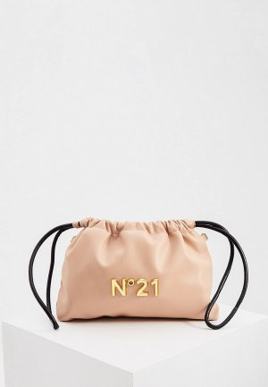 Сумка и кошелек N21. Цвет: бежевый