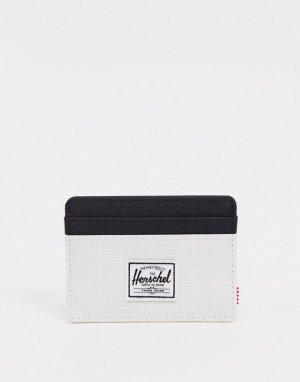 Визитница в стиле колор блок Charlie-Белый Herschel Supply Co