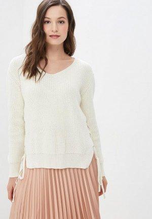 Пуловер JJ Wear. Цвет: белый