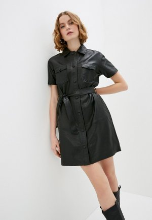 Платье 2nd Day. Цвет: черный