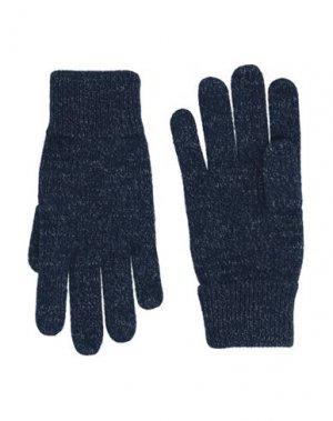 Перчатки BROOKS BROTHERS. Цвет: темно-синий