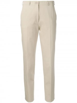 Укороченные зауженные брюки чинос Etro. Цвет: нейтральные цвета