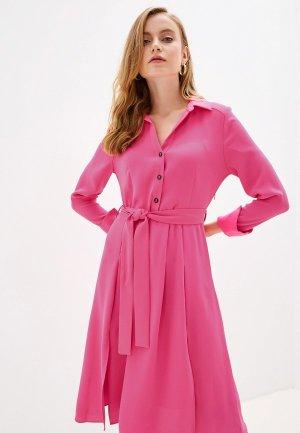 Платье River Island. Цвет: розовый