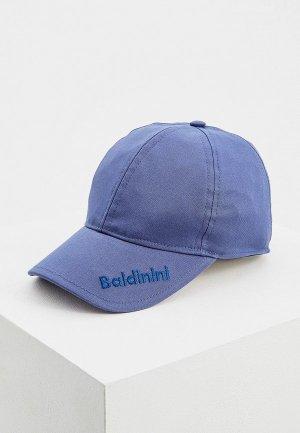 Бейсболка Baldinini. Цвет: синий