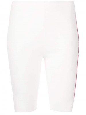 Велосипедные шорты с принтом Artica Arbox. Цвет: белый