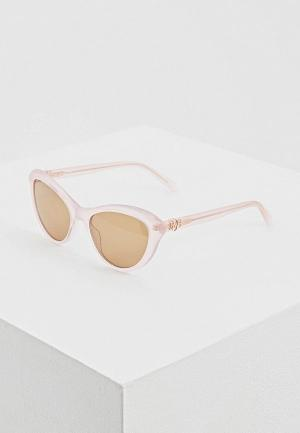 Очки солнцезащитные Love Moschino MOL015/S 35J. Цвет: розовый