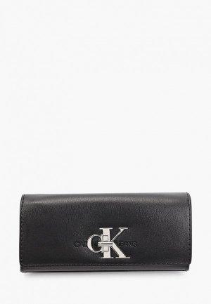 Клатч Calvin Klein Jeans. Цвет: черный