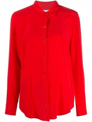 Рубашка с длинными рукавами Equipment. Цвет: красный