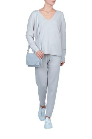 Пуловер MAX & MOI. Цвет: серый