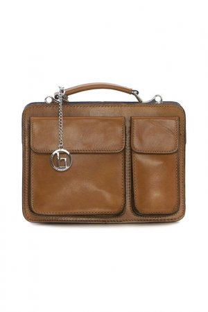 Bag Lia Biassoni. Цвет: brown