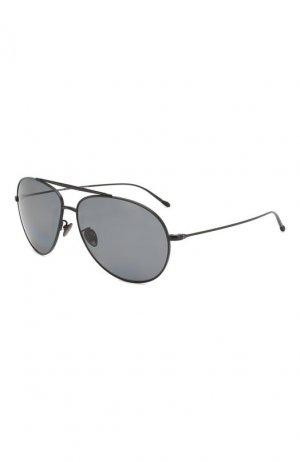 Солнцезащитные очки Giorgio Armani. Цвет: чёрный