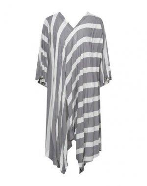 Короткое платье ISSEY MIYAKE. Цвет: серый