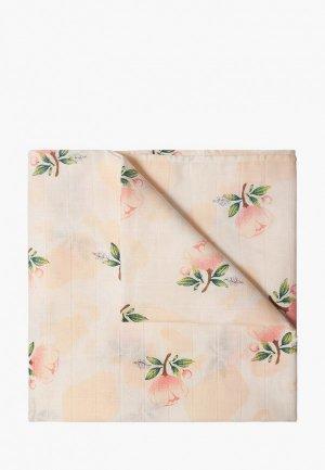Пеленка Сонный Гномик Розы 120х120 см