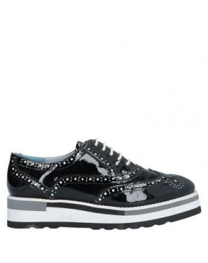Обувь на шнурках MASSIMO SANTINI. Цвет: черный