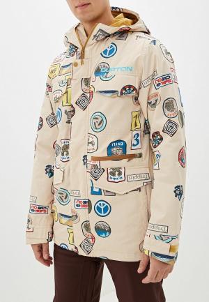 Куртка горнолыжная Burton M COVERT JK. Цвет: бежевый