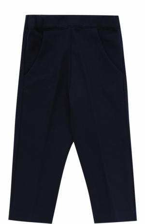 Трикотажные брюки с накладным карманом Tartine Et Chocolat. Цвет: синий