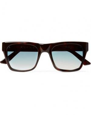 Солнечные очки KIRK ORIGINALS. Цвет: темно-коричневый