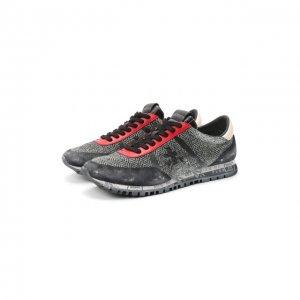 Комбинированные кроссовки Sean Premiata. Цвет: серый