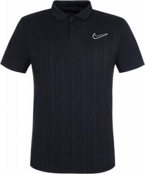 Поло мужское Court Advantage, размер 46-48 Nike. Цвет: черный