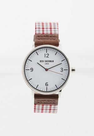 Часы Ben Sherman. Цвет: бордовый