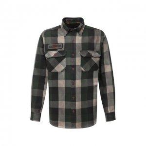Хлопковая рубашка 1903 Harley-Davidson. Цвет: разноцветный