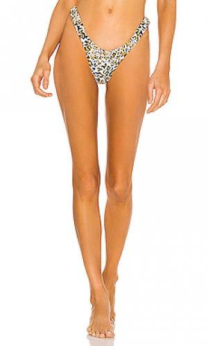 Низ бикини brasilia Nookie. Цвет: white,tan