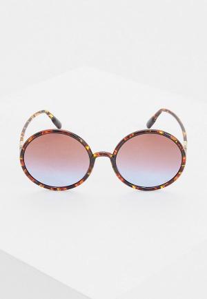 Очки солнцезащитные Christian Dior SOSTELLAIRE3 EPZ. Цвет: коричневый