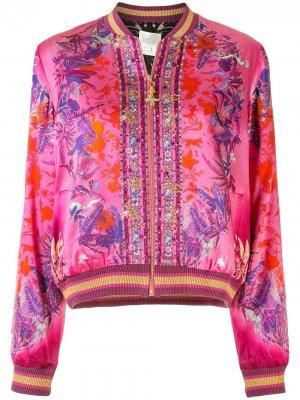 Бомбер Tropic of Neon Camilla. Цвет: розовый